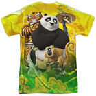 "Kung Fu Panda 3 ""Po And Friends"" Dye Sublimation T-Shirt"