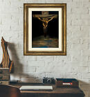 Salvador Dali 'Christ of Saint John of the Cross' Art Print Poster Framed NEW