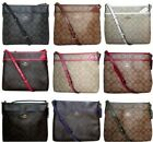 Coach Signature Crossbody PVC File Bag Purse Handbag Messenger F29210 Authentic