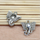 16x15mm exquisite and interesting elephant head alloy fashion jewelry accessorie