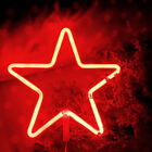 LED Neon Sign Light Star Moon Wall Lamp Shop Home Room Party Christmas Decor