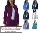 Внешний вид - Cherokee Scrubs Core Stretch Zip Front Warm-Up Jacket 4315 All Colors All Sizes