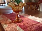 Compote glass gold