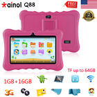 """7"""" Tablet Android Quad Core 1+16GB WIFI+3G 2*Camera Bundled Case Learning Pad PC"""