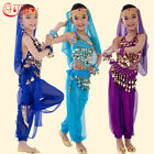 S 3XL Children Belly Dance Costume Kid Belly Dancing Egypt Girls Cloth 2 6pieces