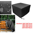 Outdoor Patio 4/6/8 Seater Furniture Cover Garden Table Shelter Protector 210d