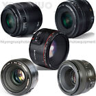 Yongnuo YN50MM F1.8 F1.4 Prime Orthodox Lens AF/MF for Canon Nikon DSLR Camera
