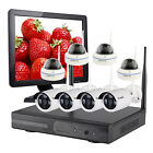 Home CCTV System 8 Wireless Security Camera Kit with Hard Drive and HDMI Monitor