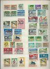 Jamacia Stamps - Brit Comm - Small Collection of 93 on 3 pages (4059) (Z)