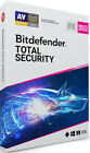 New Bitdefender Total Security 2019 5 Devices 1, 2, 3, 4 & 5 Years - e-Delivery