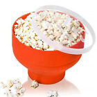 New Silicone Microwave Popcorn Popper Maker Collapsible Hot Air Machine Bowl cheap