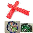 72pcs Motocross Pit Dirt Bike Fahrrad Wheel Spoke Skin Cover Wrap Yamaha XTZ660