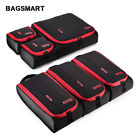 BAGSMART Travel Accessories 6 Set Packing Cubes Luggage Packing Organizers Bag