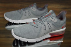 Nike Air Max Sequent 3 Grey Red 921694 060 Running Shoes Mens Size 10 105