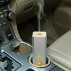 Square Air Humidifier Essential Oil Ultrasonic Wood Grain Car Aroma DiffuserD/