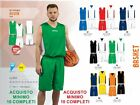 Complet Basket-ball DOUBLE FACE SPORTIKA ENSEMBLE ASSEN Réversibles Tailles