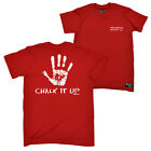 FB Rock Climbing Tee Chalk It Up Novelty Birthday Christmas Gift Mens T-Shirt