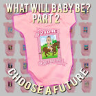BritTot Babies FUTURE Collection 2 - Girls Funny Baby Grow Vest Sleepsuit