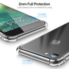 For Apple iPhone XS Max XR X Case Clear Shockproof Soft Transparent Cover Blue #