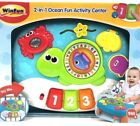 Winfun 2-in-1 Ocean Fun activity center. Play alone tunes. Easily attach to crib