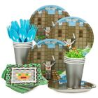 Minecraft Inspired Medieval Standard Kit (Serves 8) - Party Supplies by Costume