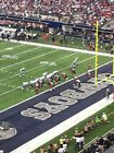 Dallas Cowboys vs Detroit Lions 2 Tickets 09/30/18 Mezzanine Level on eBay