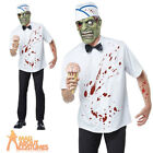 Adult I-Scream Man Costume Zombie Ice Cream Mens Halloween Fancy Dress Outfit