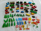 Lot 80 + Piece Thomas & Friends Wood Wooden Train Car Brio Tree People Animal