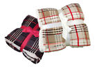 Super Soft Warm Plaid Reversible Blanket Bedding Sofa Throw image