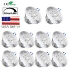 Dimmable LED Recessed Ceiling Light Downlight Lighting Fixture 110V 3W 4W 5W