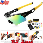 Sunglasses Sports Goggles Eyewear Cycling Glasses 5 Lens Outdoor Sport Bicycle