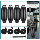 4pcs+Ribbed+Boat+Fender+8%2E5%22x27%22Inflatable+Center+Hole+Bumper+Mooring+Protection