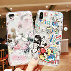 Cute Mickey Minnie Disney Phone Case Cover For iPhone X XS Max XR 6/6s 7 8 Plus