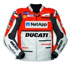 DUCATI Alpinestars Replica Moto GP TEAM 18 LederJacke LeatherJacket LIMITED NEU