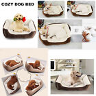 Large Pet Dog Cat Bed Cushion Soft Warm Kennel Basket Cozy Sleeping Mat House US