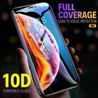 10D Real Tempered Glass Screen Protector For IPhone X XS...