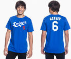 Steve Garvey Los Angeles Dodgers #6 MLB Jersey Style Mens Graphic T on Ebay