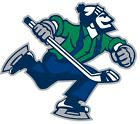 Vancouver Canucks Johnny Nhl Color Die Cut Vinyl Decal Sticker - You Choose Size