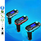 USB LCD AUX IN Audio Car Kit MP3 Player FM Transmitter Charger For iphone ipod
