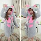 Adult Men Women Nightwear Unisex Sleepwear Pajamas anime costume'Gown Bath Robe