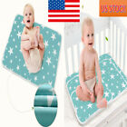 Внешний вид - COTTON WATERPROOF BABY INFANT CRIB MATTRESS PROTECTOR COVER PRAM CRIB BED SHEET