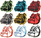 Bulldog Dog Patch Iron on Embroidered Applique Jacket Clothes Costume Logo Sign