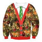 Damen Herren Weihnachts Pullover Ugly Christmas Sweater Pulli Tops Xmas Jumper