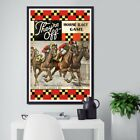 1930s Parker Brothers Horse Racing Board Game POSTER up to 24 x 36
