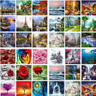 Внешний вид - DIY Natural Scenery Paint By Number Kit Digital Oil Painting Art Wall Home Decor