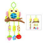 1pc Crib Hanging Rattle Toy Plush Ringing Bell Pacified Hanging Toy for Toddlers