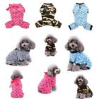 Pet Dog Jumpsuit Puppy Cat Clothes Sweater Winter Warm Casual Costume Apparel US