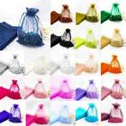 25 MIXED Organza Gift Bags Luxury Jewelry Small Pouch Wedding Party XMAS Favour
