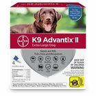Bayer K9 Advantix II Flea, Tick and Mosquito Prevention for X-Large Dogs, Over
