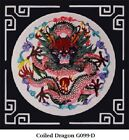 Multi Color Chinese Paper Cutting Dragon Wall Art with Matte